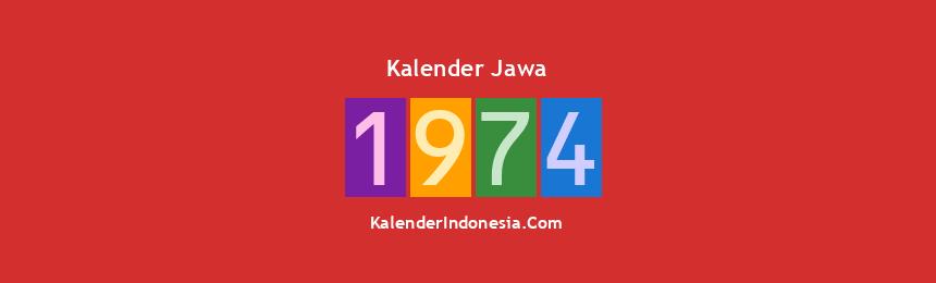 Banner Jawa 1974