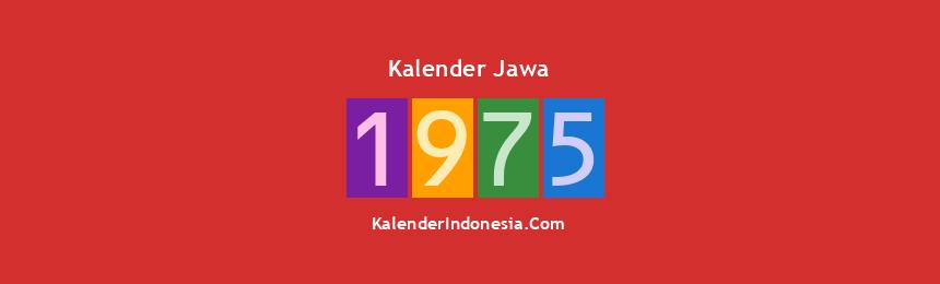 Banner Jawa 1975