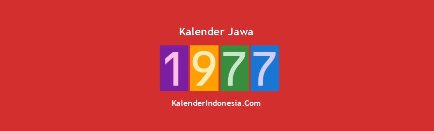 Banner Jawa 1977