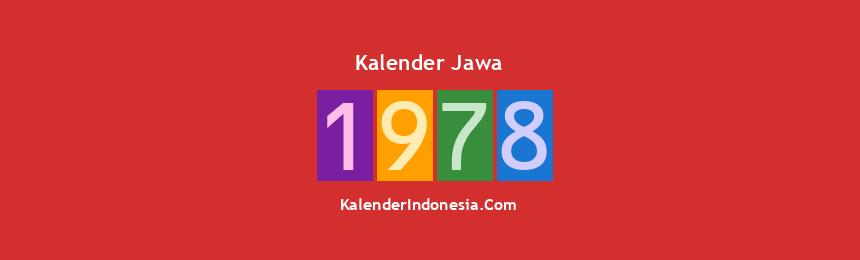 Banner Jawa 1978