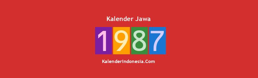 Banner Jawa 1987