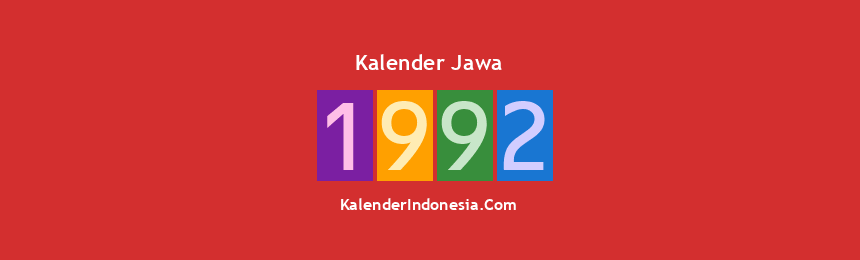 Banner Jawa 1992