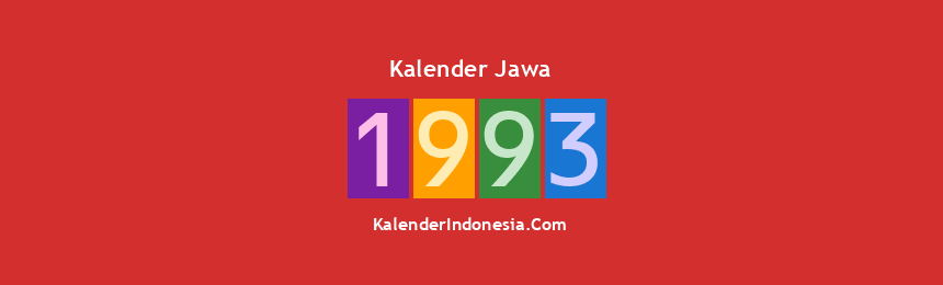 Banner Jawa 1993