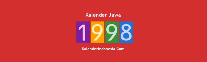 Banner Jawa 1998