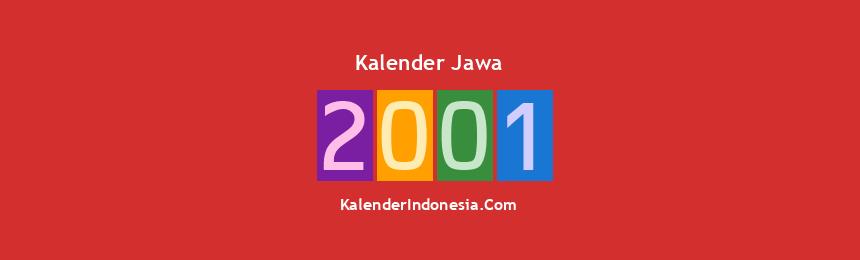 Banner Jawa 2001