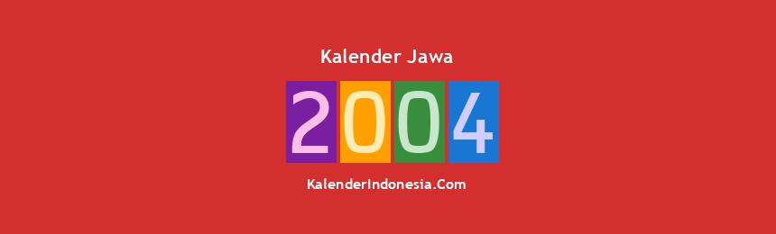 Banner Jawa 2004