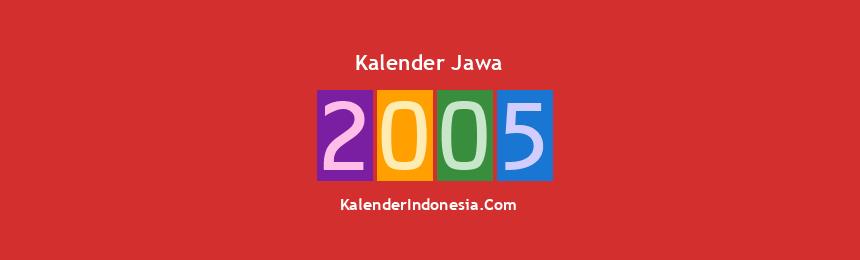Banner Jawa 2005