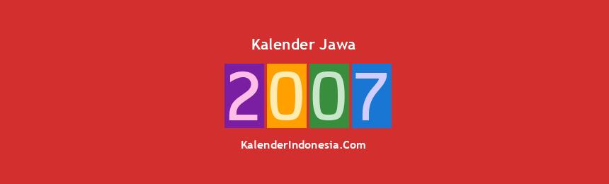 Banner Jawa 2007