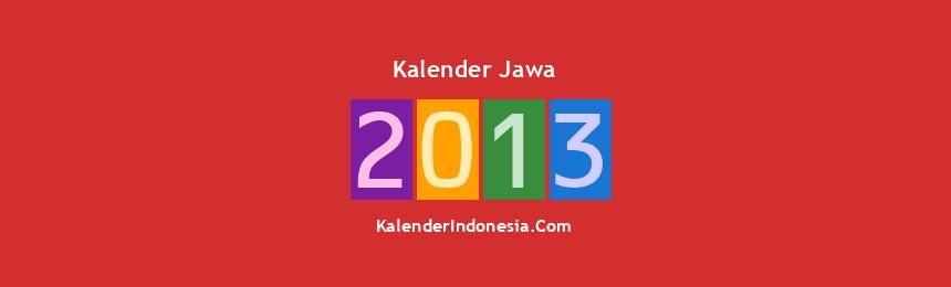 Banner Jawa 2013