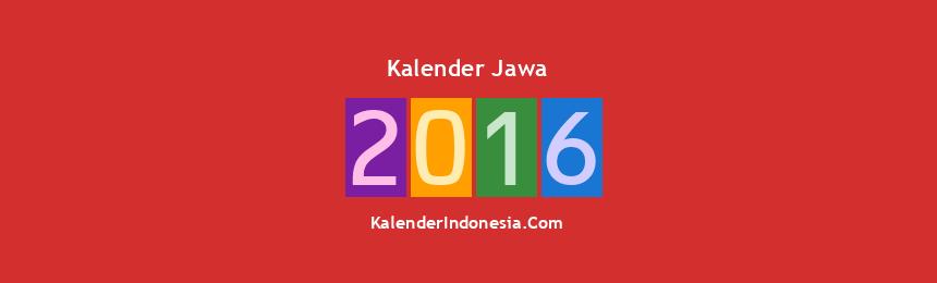 Banner Jawa 2016