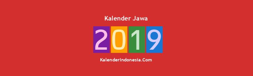 Banner Jawa 2019