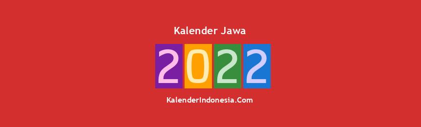 Banner Jawa 2022