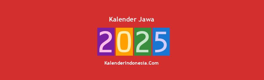Banner Jawa 2025