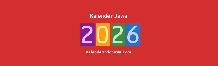 Banner Jawa 2026