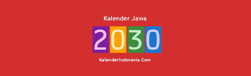 Banner Jawa 2030