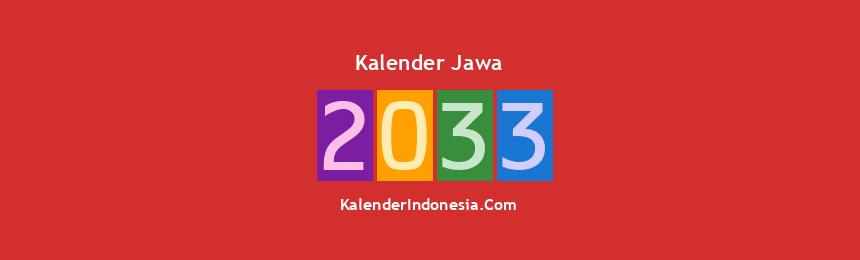 Banner Jawa 2033