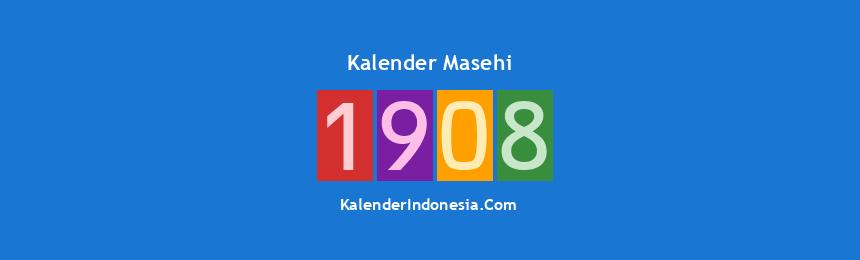 Banner Masehi 1908