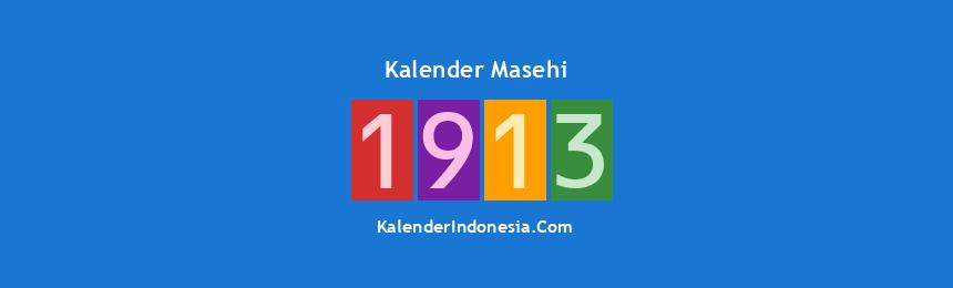 Banner Masehi 1913