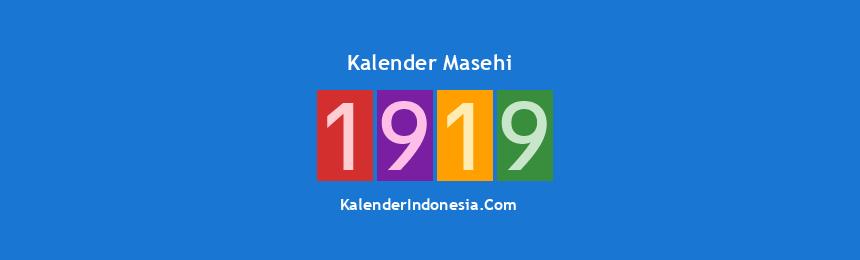 Banner Masehi 1919