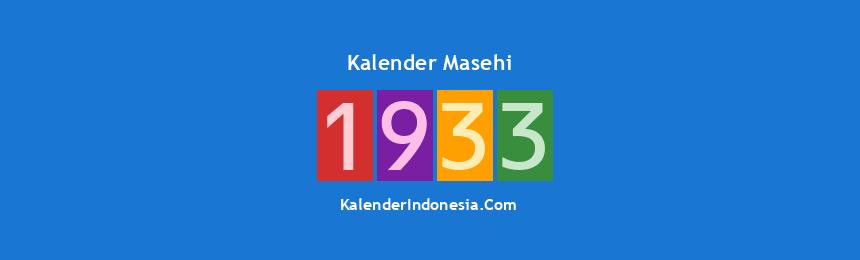 Banner Masehi 1933