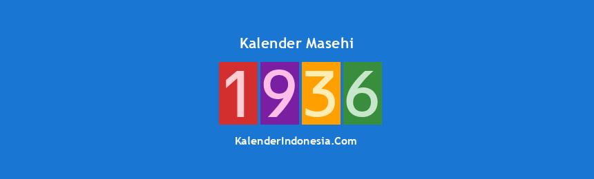 Banner Masehi 1936
