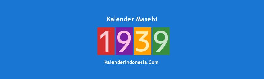 Banner Masehi 1939