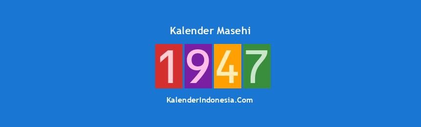 Banner Masehi 1947