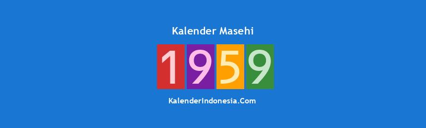 Banner Masehi 1959
