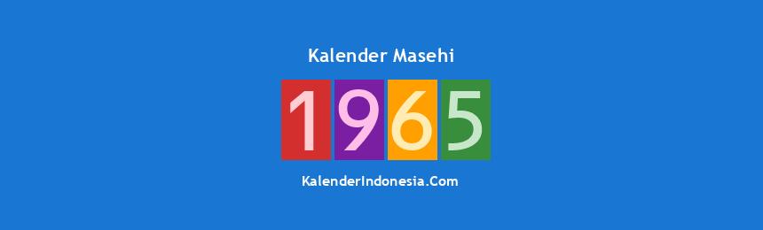 Banner Masehi 1965