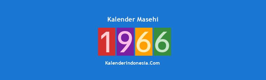 Banner Masehi 1966