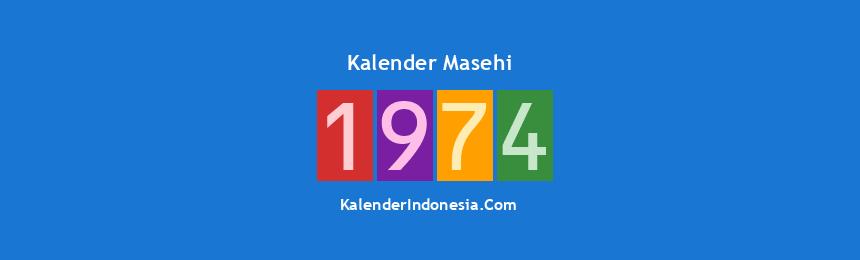 Banner Masehi 1974