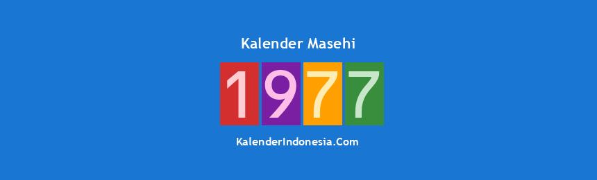 Banner Masehi 1977