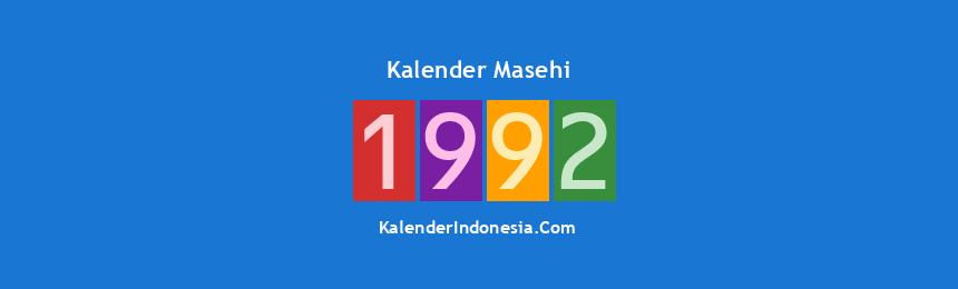 Banner Masehi 1992