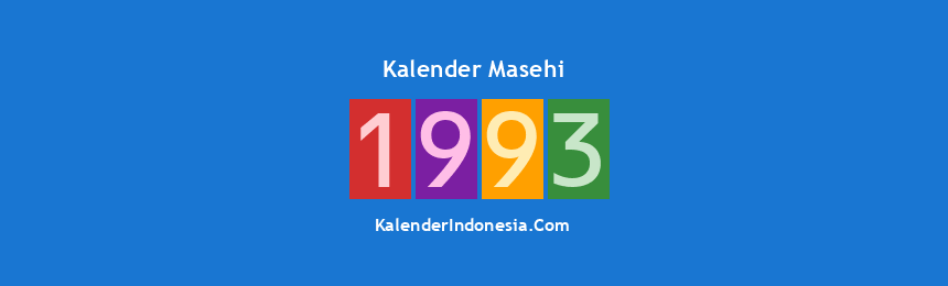 Banner Masehi 1993