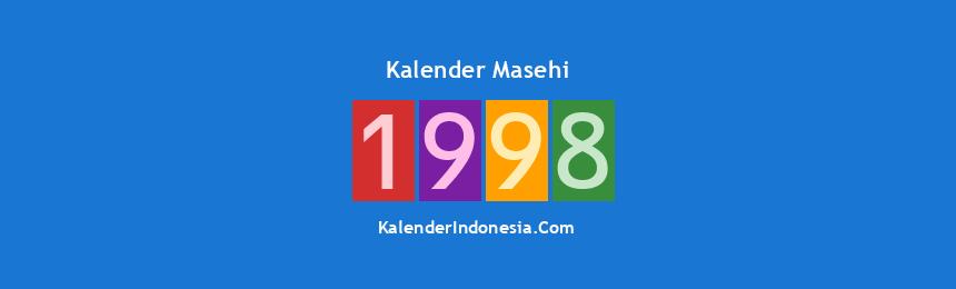 Banner Masehi 1998