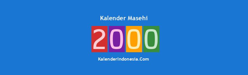 Banner Masehi 2000