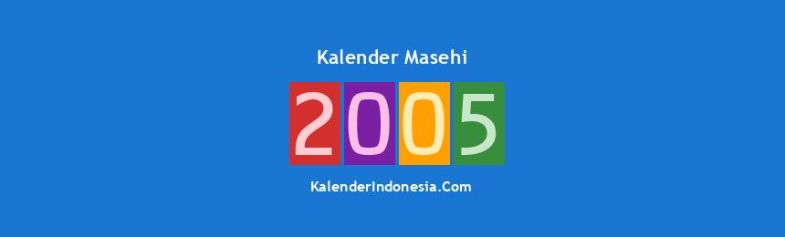 Banner Masehi 2005