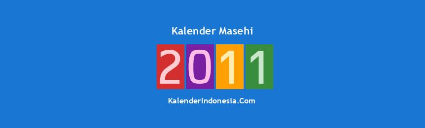 Banner Masehi 2011