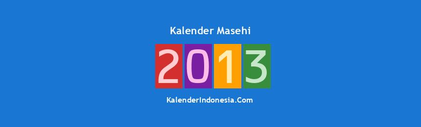 Banner Masehi 2013