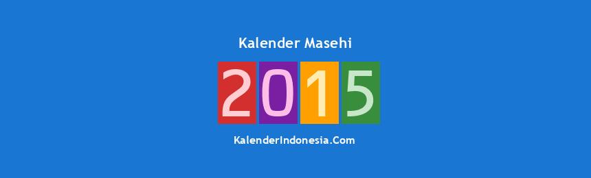 Banner Masehi 2015