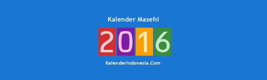 Banner Masehi 2016