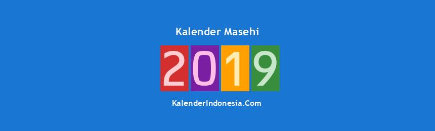 Banner Masehi 2019