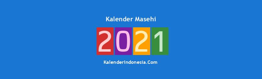 Banner Masehi 2021