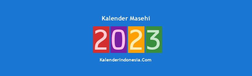 Banner Masehi 2023