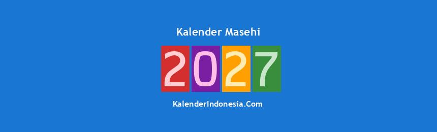 Banner Masehi 2027