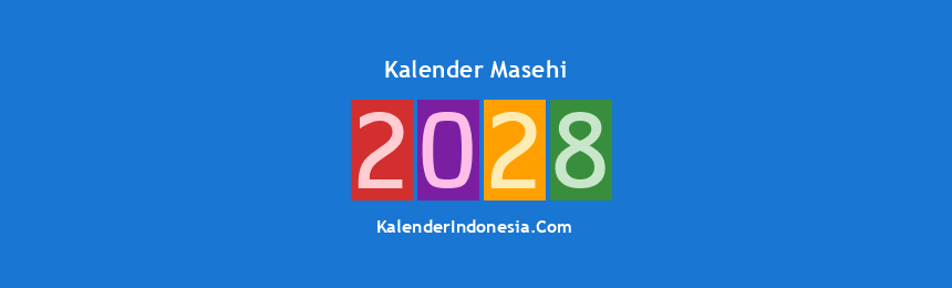 Banner Masehi 2028