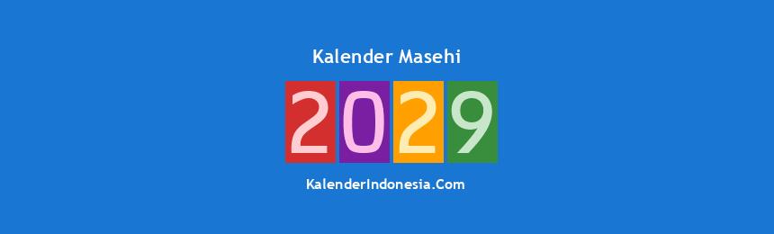 Banner Masehi 2029