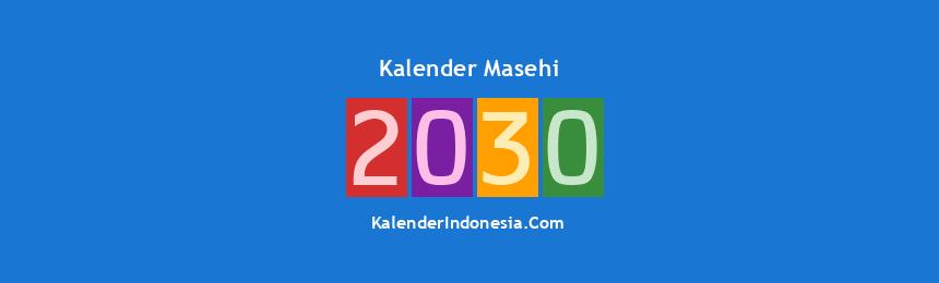 Banner Masehi 2030