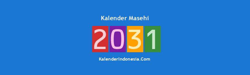 Banner Masehi 2031