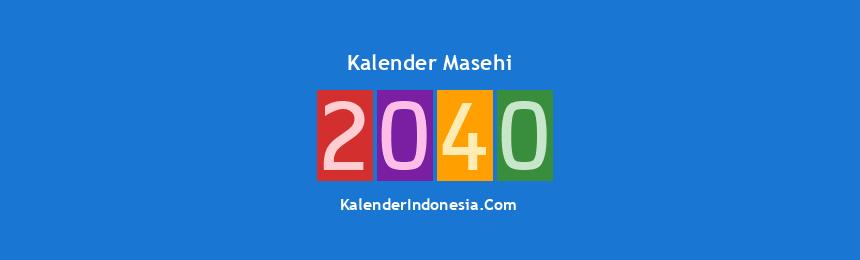 Banner Masehi 2040